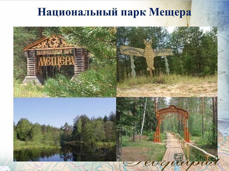 Национальный парк Мещера