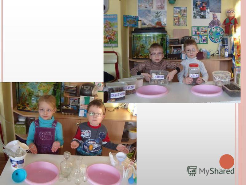 Совместно с родителями была создана мини-лаборатория.
