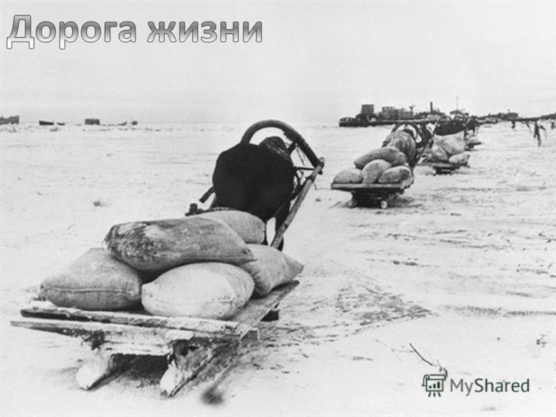 К началу блокады в городе не имелось достаточных по объёму запасов продовольствия и топлива. Единственным путём сообщения с Ленинградом оставалось Ладожское озеро, находившееся в пределах досягаемости артиллерии и авиации осаждающих, на озере также д