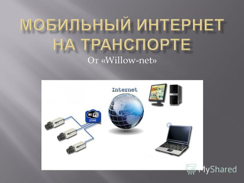 От «Willow-net»