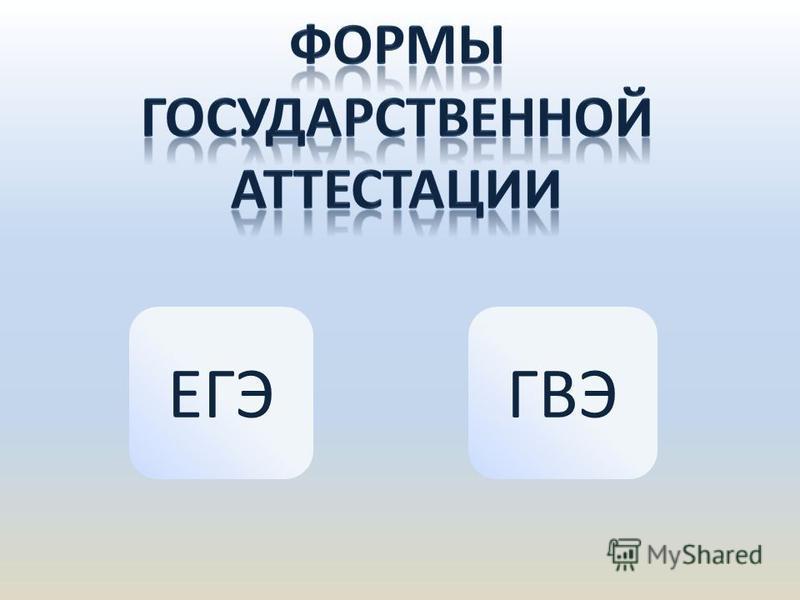 ЕГЭГВЭ