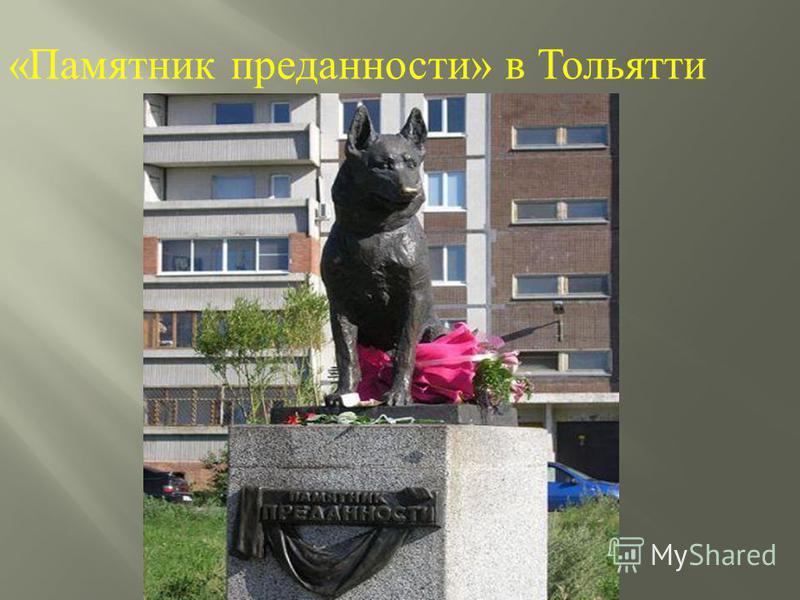 « Памятник преданности » в Тольятти
