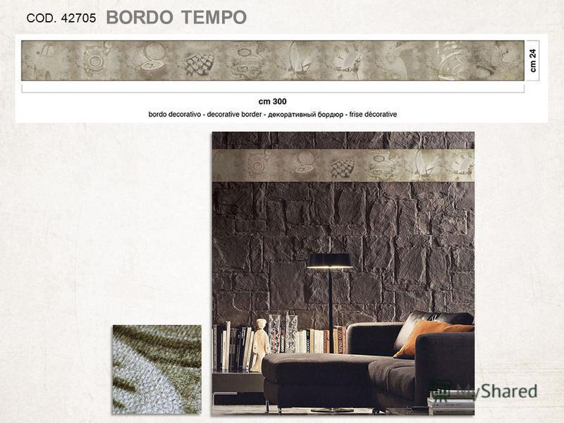 COD. 42705 BORDO TEMPO