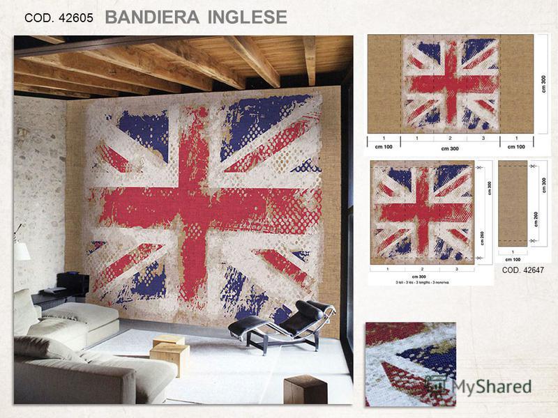 COD. 42605 COD. 42647 BANDIERA INGLESE