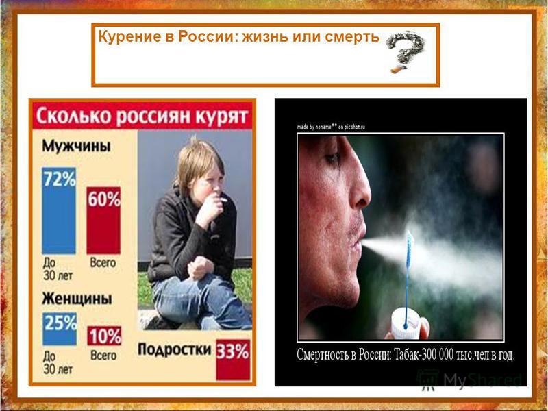 Курение в России: жизнь или смерть