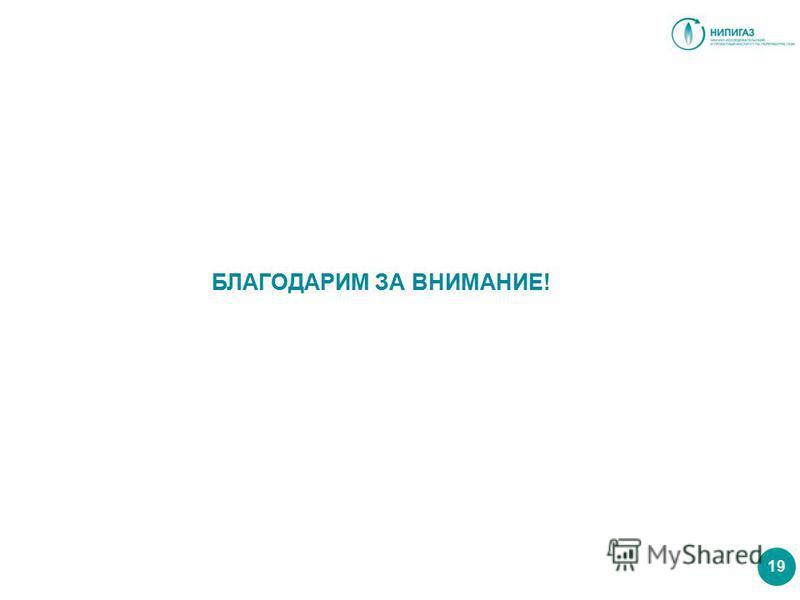 БЛАГОДАРИМ ЗА ВНИМАНИЕ! 19