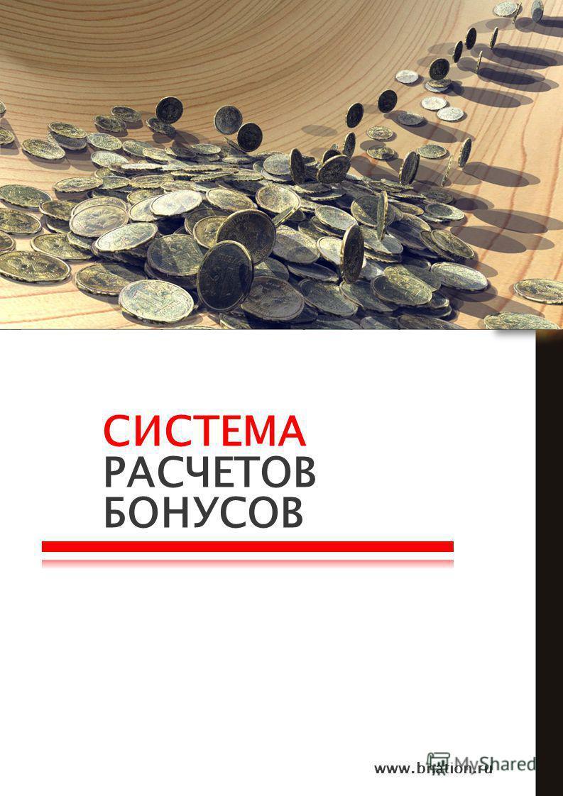 СИСТЕМА РАСЧЕТОВ БОНУСОВ www.bnation.ru