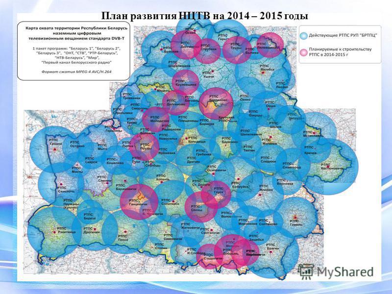 План развития НЦТВ на 2014 – 2015 годы
