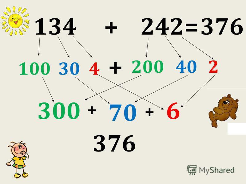 134 + 242= 100 + + 304 200402 300 70 + 6 376