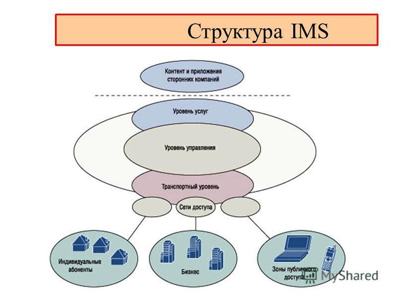 Структура IMS