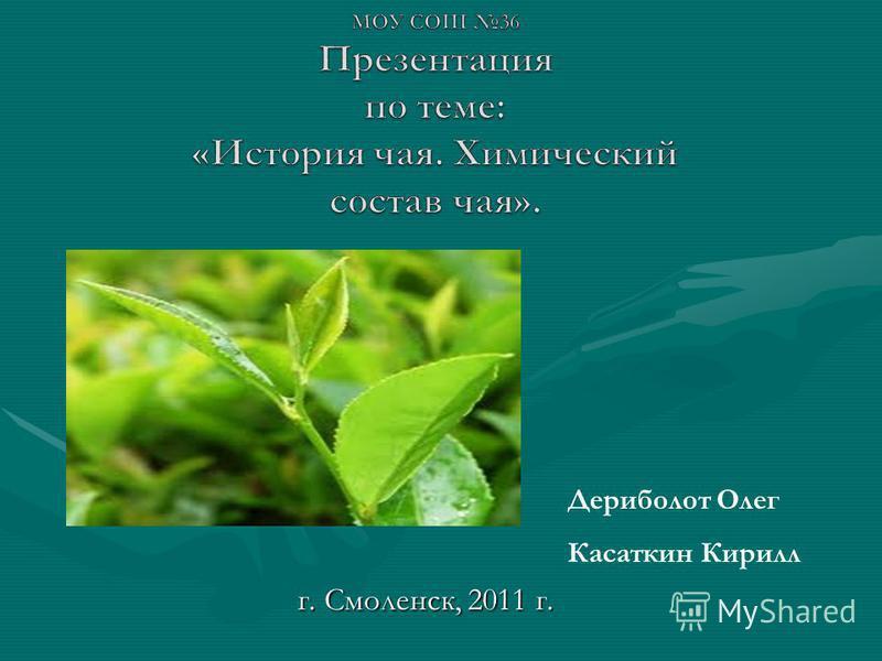 г. Смоленск, 2011 г. Дериболот Олег Касаткин Кирилл