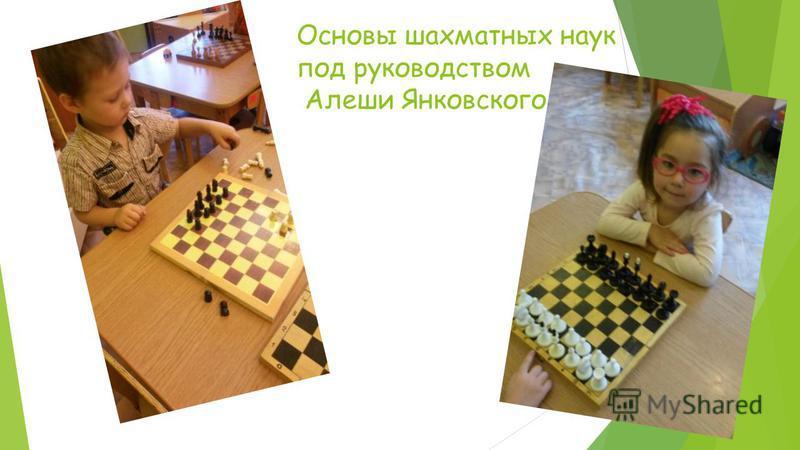 Основы шахматных наук под руководством Алеши Янковского