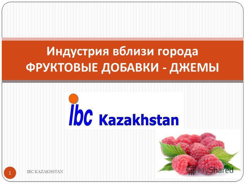 Индустрия вблизи города ФРУКТОВЫЕ ДОБАВКИ - ДЖЕМЫ 1 IBC KAZAKHSTAN