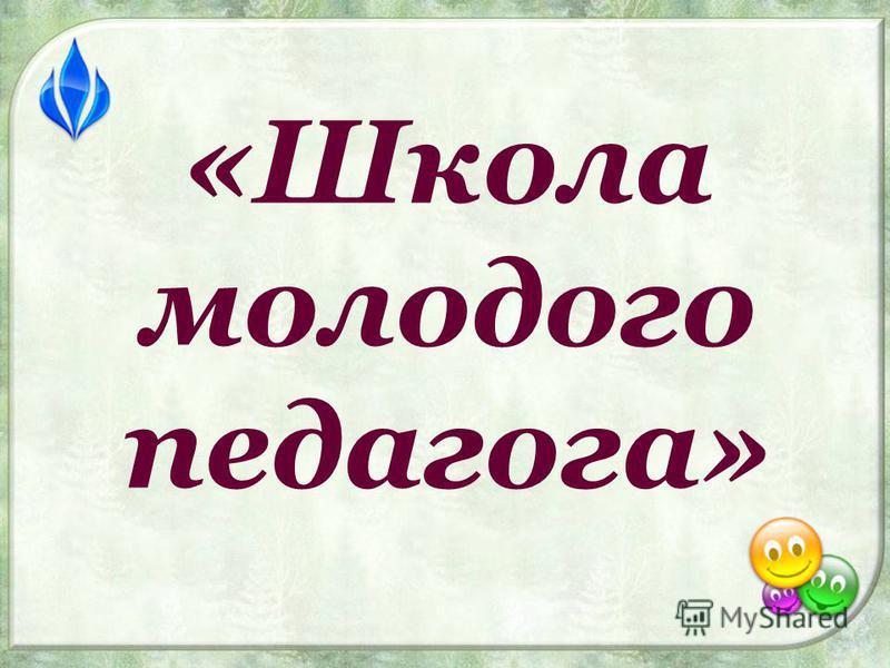 «Школа молодого педагога»