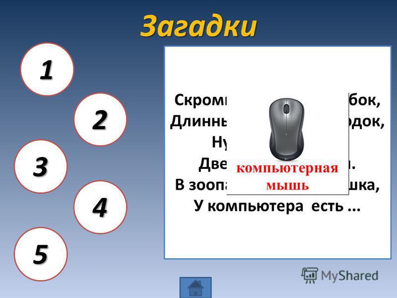 Ребусы ПИКСЕЛЬ 1 ВИНЧЕСТЕР 2 ПРОЦЕССОР КОМПЬЮТЕР 4 ПАМЯТЬ 5 3