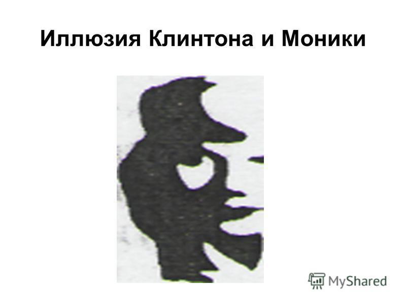 Иллюзия Клинтона и Моники