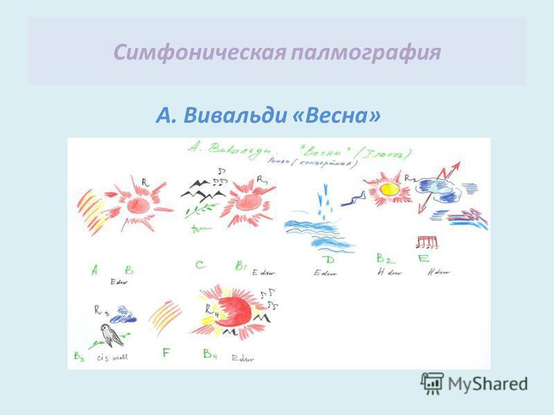 Симфоническая палеография А. Вивальди «Весна»
