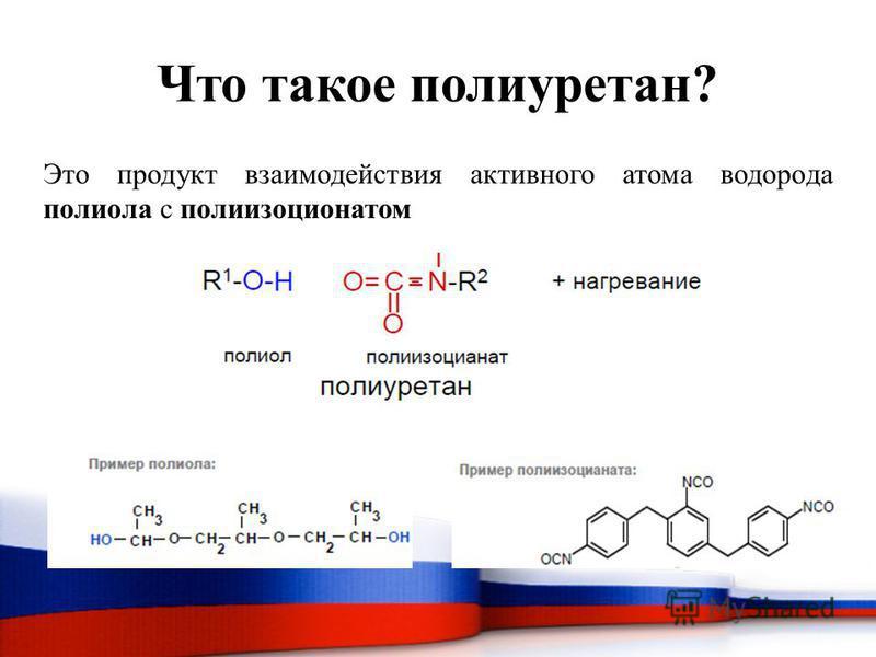 Что такое полиуретан? Это продукт взаимодействия активного атома водорода полиола с полиизоцианатом
