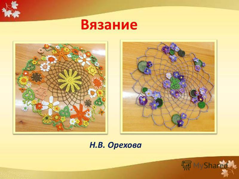 Н.В. Орехова Вязание
