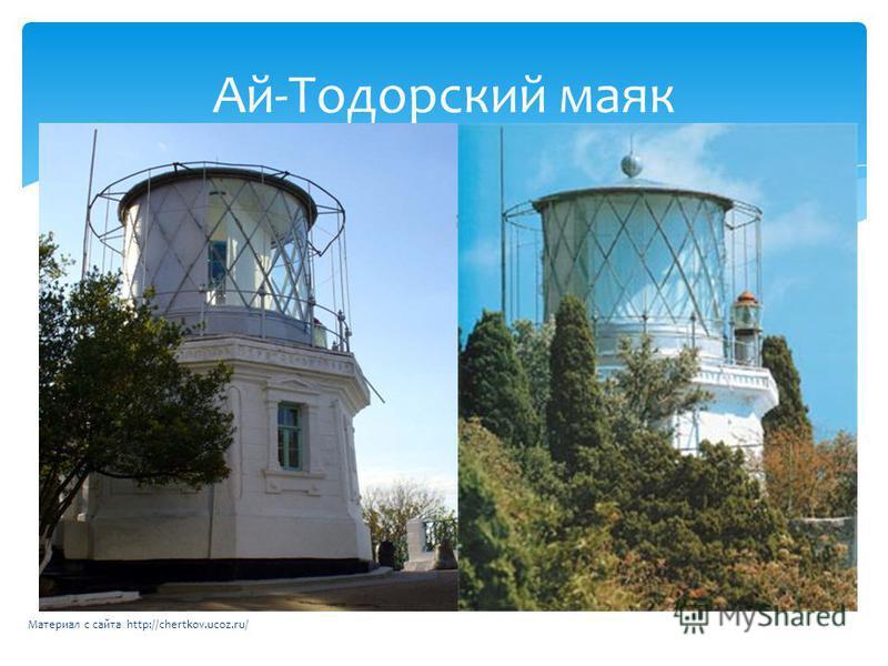 Ай-Тодорский маяк Материал с сайта http://chertkov.ucoz.ru/