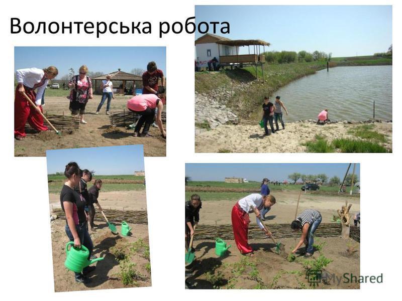 Волонтерська робота
