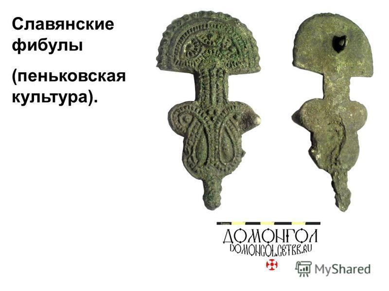 Славянские фибулы (пеньковская культура).