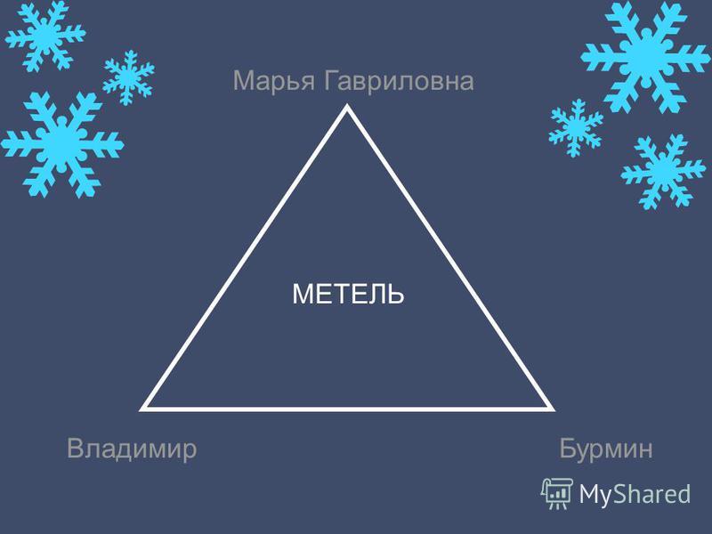 Марья Гавриловна Владимир Бурмин МЕТЕЛЬ