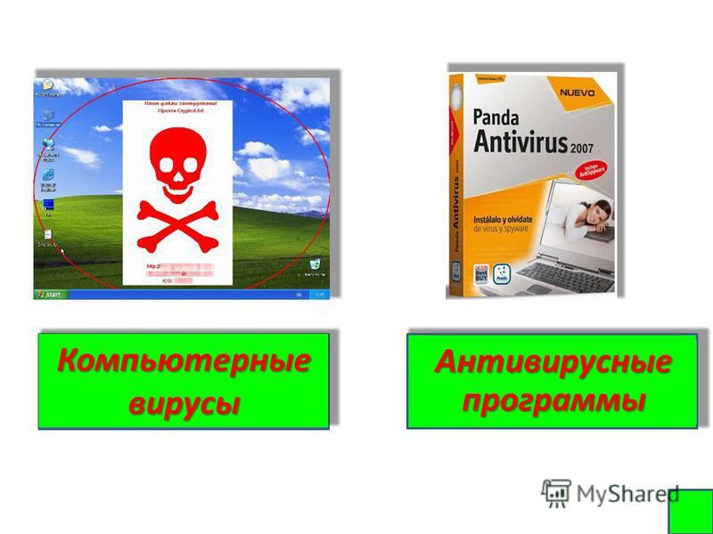 Компьютерные вирусы Антивирусные программы Антивирусные программы