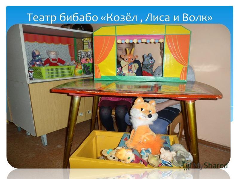 Театр бибабо «Козёл, Лиса и Волк»