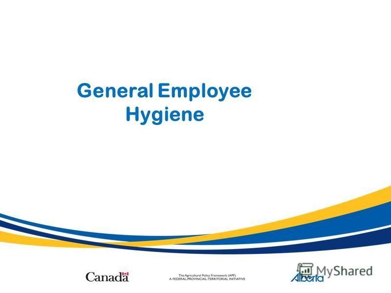 General Employee Hygiene