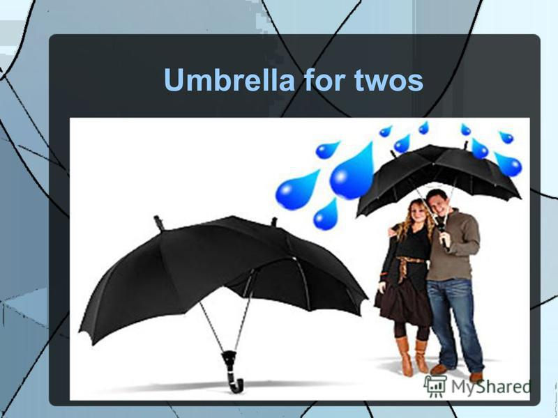 Umbrella for twos
