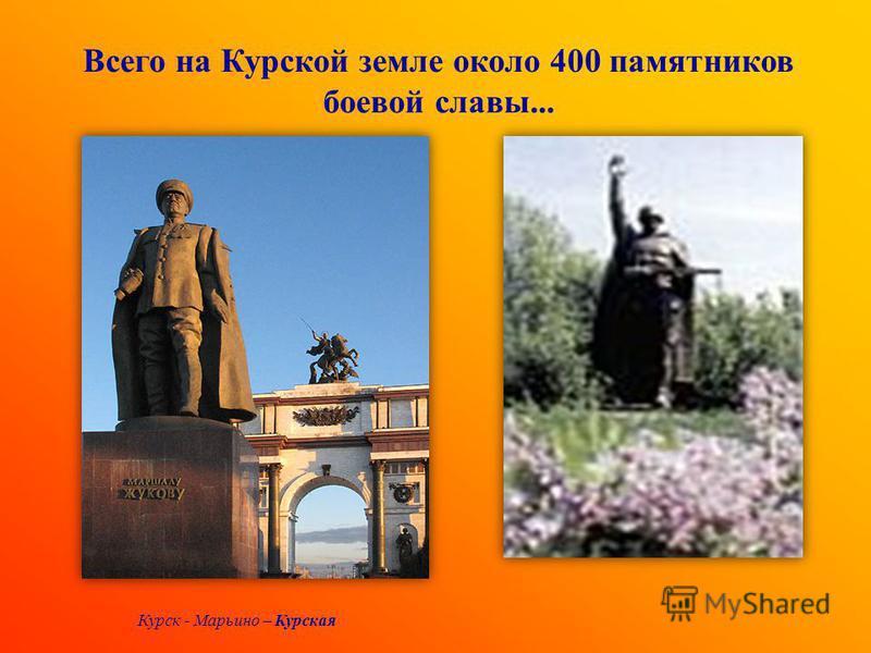 1898 -1940 и к 65 - летию битвы на Курской дуге Курская битва