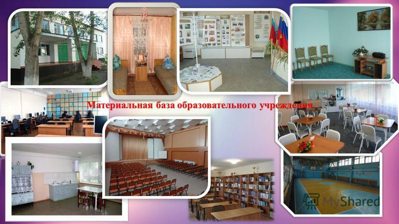 Материальная база образовательного учреждения