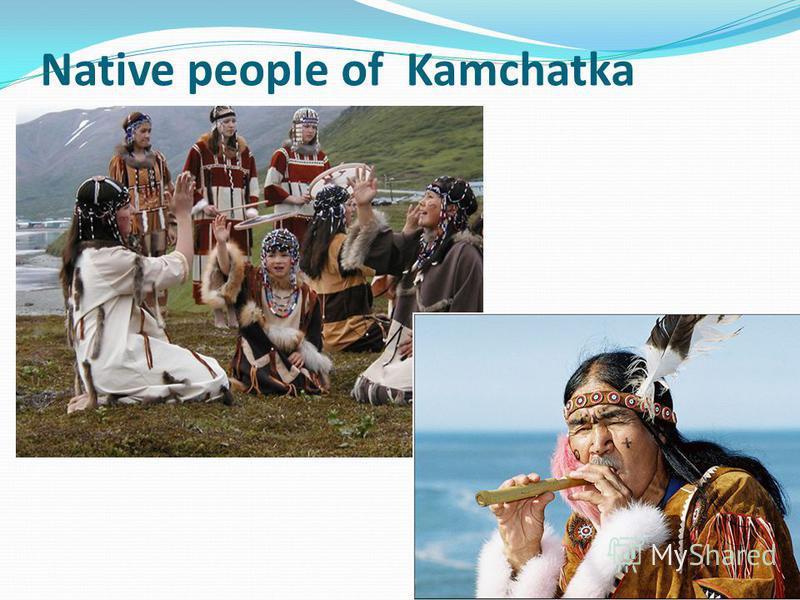 Native people of Kamchatka