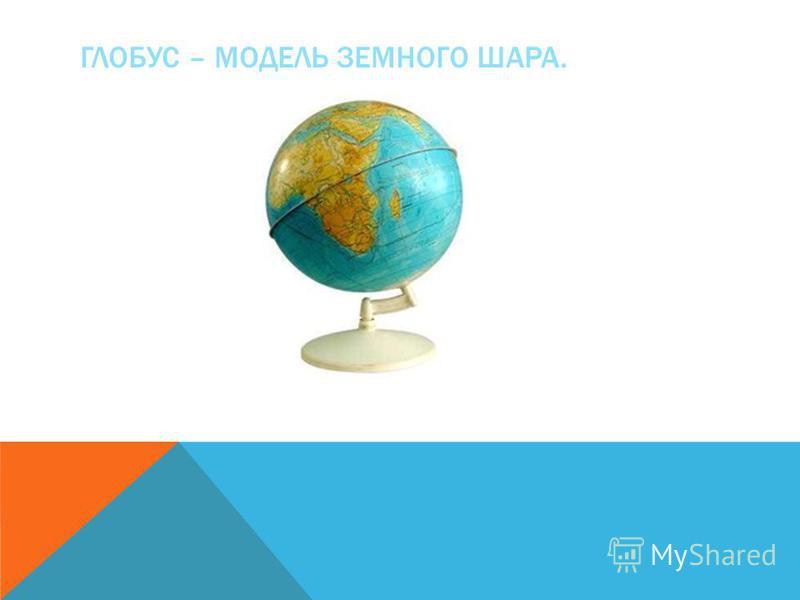 Урок по географии в 6 классе школы viii вида земля-шар глобус