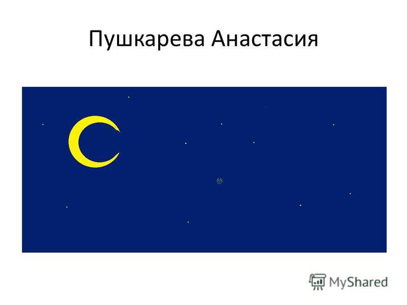 Пушкарева Анастасия