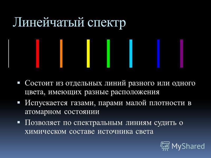 Хорошей демонстрацией спектра является природное явление радуги.