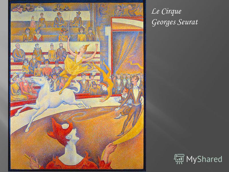 Le Cirque Georges Seurat