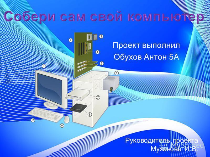 Проект выполнил Обухов Антон 5А Руководитель проекта Муханова И.В.