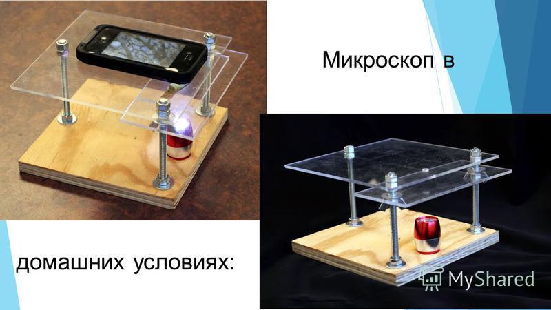Микроскоп в домашних условиях: