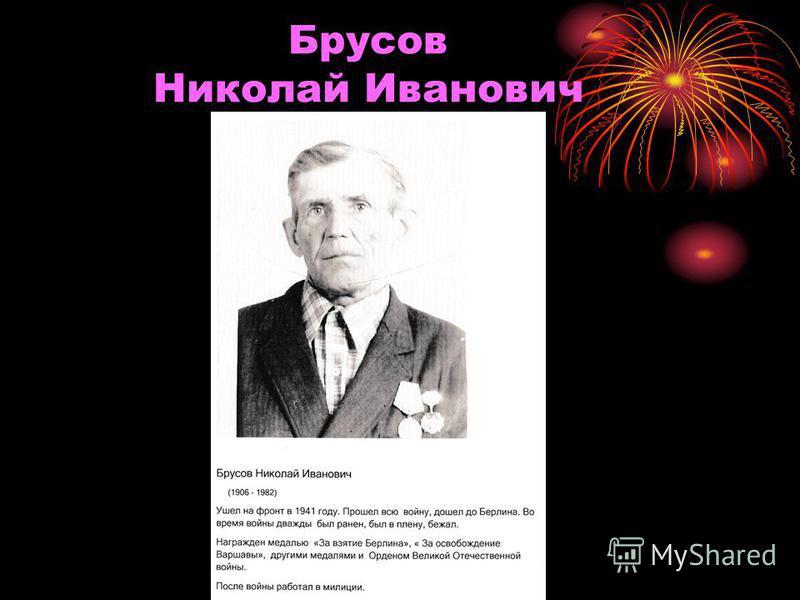 Брусов Николай Иванович