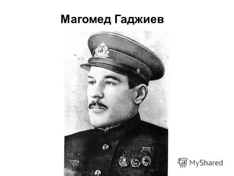 Магомед Гаджиев