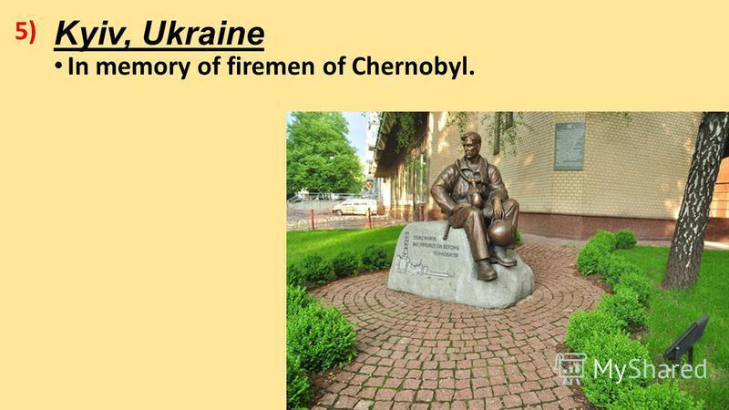 Kyiv, Ukraine In memory of firemen of Chernobyl. 5)