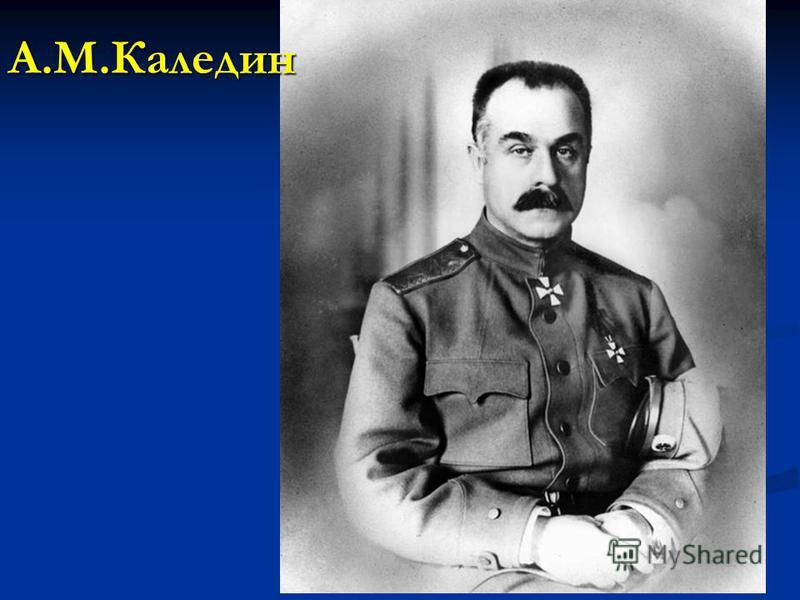 А.М.Каледин