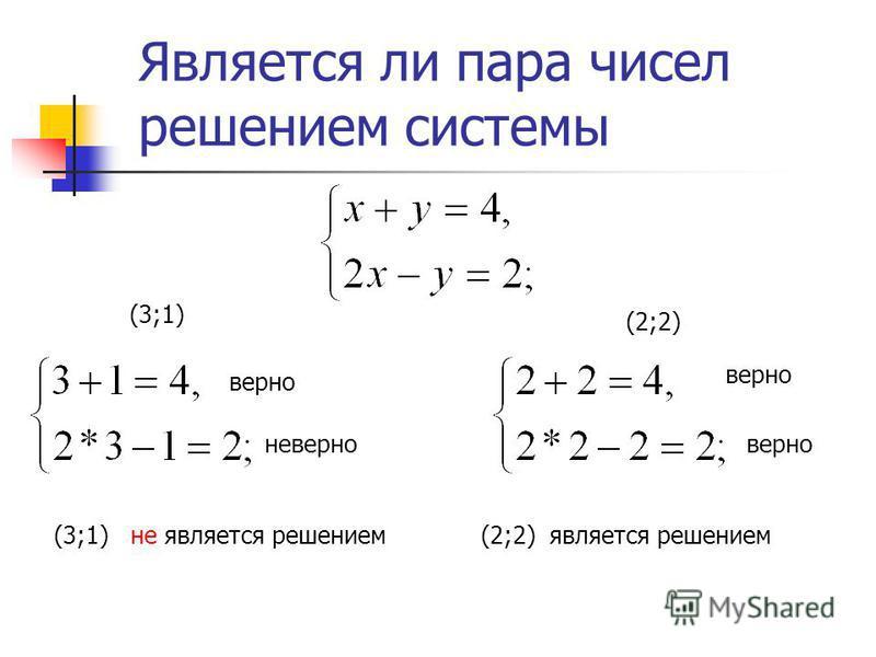 Сколько решений имеет система уравнений ? Если к 1 к 2 Графики пересекаются Система имеет единственное решение Если к 1=к 2, b1 b2 Графики параллельны Система не имеет решений Если к 1=к 2, b1=b2 Графики совпадают Система имеет бесконечно много решен