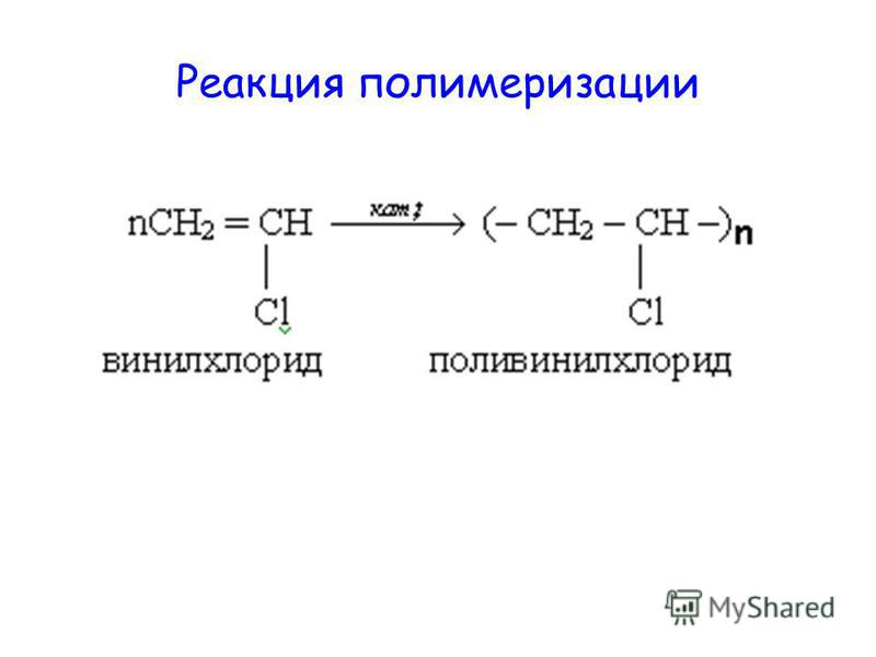 Реакция полимеризации