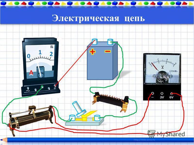 0 1 2 A A Электрическая цепь