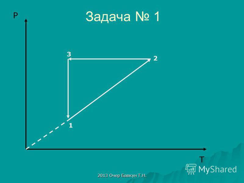2013 Очер Бавкун Т.Н. Задача 1 T P 1 2 3