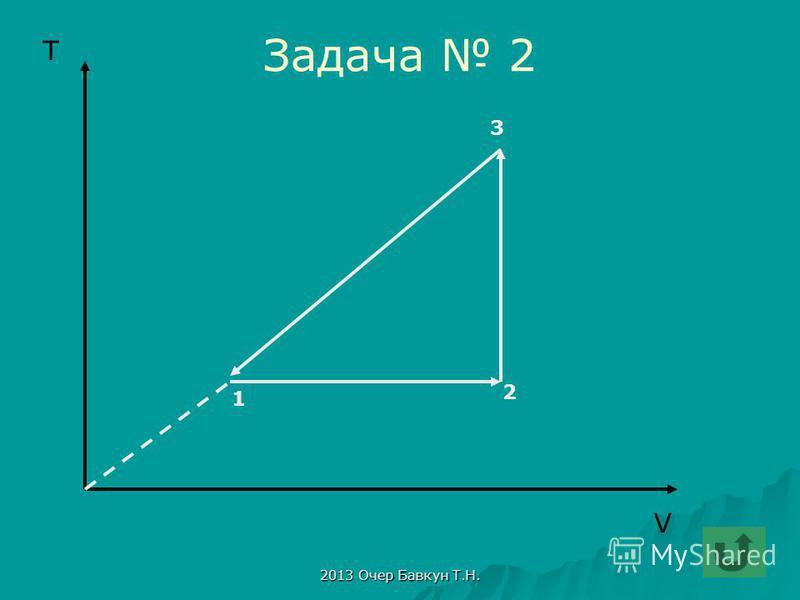 2013 Очер Бавкун Т.Н. Задача 2 V T 1 2 3