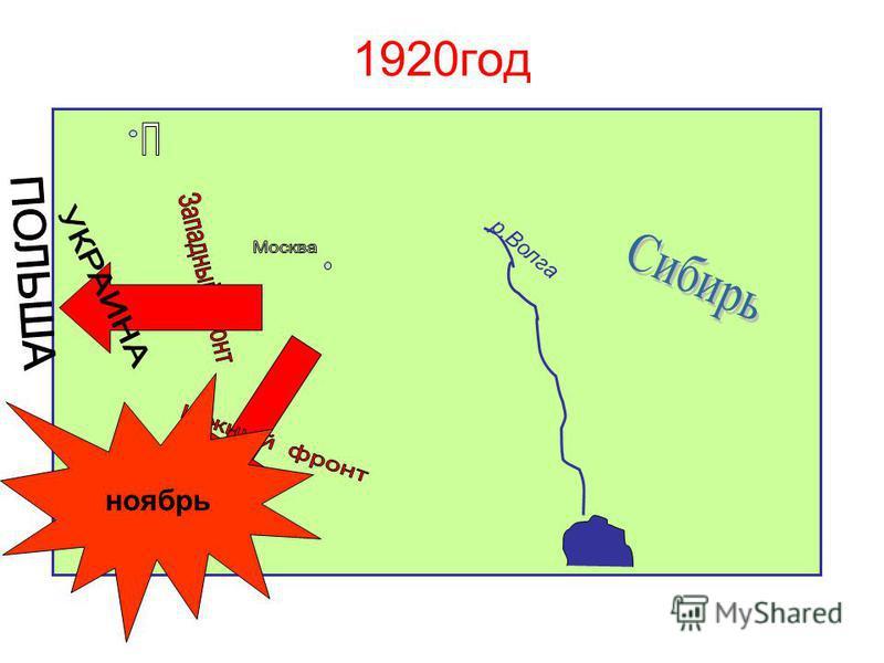 Врангель 1920 год ноябрь р.Волга